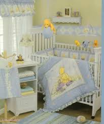 Classic Winnie The Pooh Nursery Sky Blue