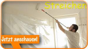 Decke Und Wände Streichen I Streichen Tipps Tricks Badezimmer