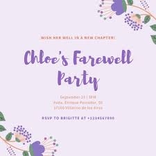 Customize 2 781 Farewell Party Invitations Templates Online