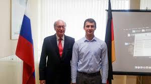 Защита магистерской диссертации в рамках программы двойных  Защита магистерской диссертации с российской и немецкой сторон была оценена на Отлично