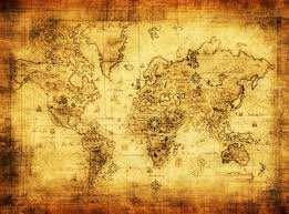 ancient world map wallpaper wall mural by loveabodecom