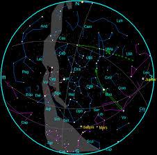 Star Chart For July 2016 July Bob Molers Ephemeris Blog
