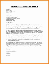 Resume Cover Letter Job Inquiry During Sample Email Cover Letter