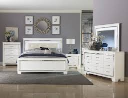 Allura Collection Bedroom Set White Finish 1916HE