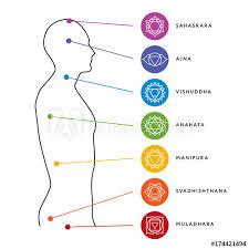 Chakra System Chart Chakra System Of Human Body Chart Seven Chakra Symbols