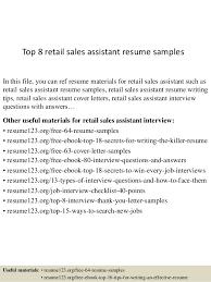 job resume retail sample Domov Sales assistant CV template
