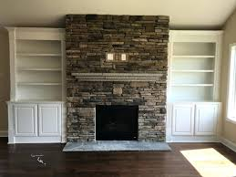 smlf stacked stone tile fireplace surround easy beautiful veneers
