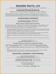 New Graduate Nursing Resume Template Fresh Resume Experts Best Rn