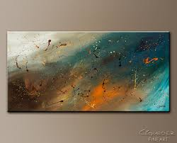 abstract sensation abstract art painting image by carmen guedez