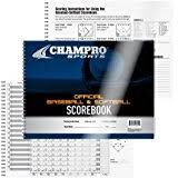 Baseball Score Book Pages Amazon Com Pack Of 24 Loucks Baseball And Softball Line Up Pages