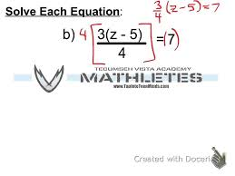 3 3 how to solve equations involving fractions and distribution mpm1d grade 9 math you
