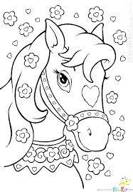 Coloring Pages Horses Printable Free Horse Coloring Pages Printable