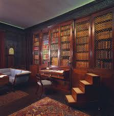 Home library, Regency style - Home library design and book accessories