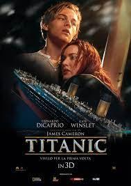 Titanic 3D: la locandina italiana - 1/2 | Film, Film titanic, Locandine di  film