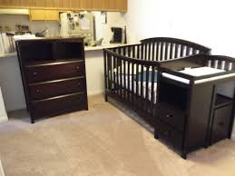 solid wood nursery furniture. Best Solid Wood Baby Nursery Changing Table Dresser Painted With Black Color Decor Drawer And Storage Plus Top Ideas Furniture R