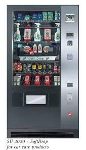 Fresh Food Vending Machine Cool SIElAFF SU 48 SOFTDROP