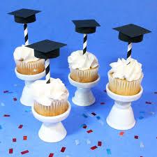 Diy Graduation Party Cupcake Toppers Merrilulu