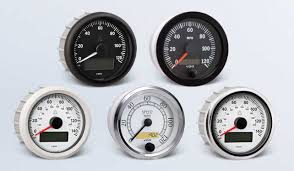 speedometer by type instruments displays and clusters vdo speedometer