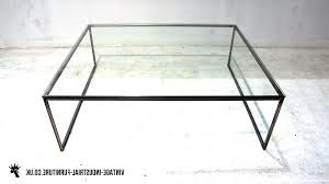 round steel coffee table glass top with iron base end tables black metal sets