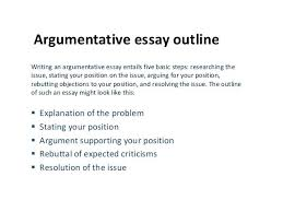 writing argumentative essays examples argumentative essay example  writing argumentative