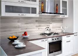 Modern Kitchen Marble Backsplash Silver Gray Long Subway Tile For Perfect Design