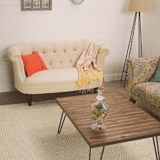 Button Couch Erin Cute As A Button Loveseat World Market