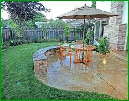 unique average cost of concrete patio poured installing a