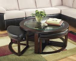 coffee table living room black wood glass top square coffee table