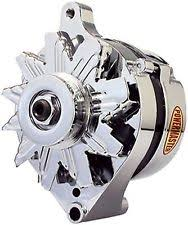 ford 1 wire alternator powermaster 170781 alternator ford 1g 60 amp one wire chrome