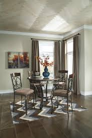 Ashley Furniture Kitchen Table Set Signature Design By Ashley Furniture Glambrey Round Dining Table