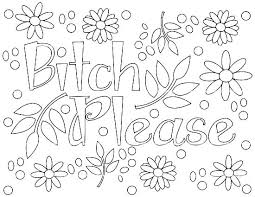 Free Printable Coloring Pages Cuss Words Coloring Pages Swear Words