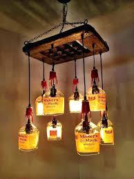 wine bottle chandelier diy kit wine bottle chandelier kit whiskey bottle chandelier makers mark driftwood 8 wine bottle chandelier diy