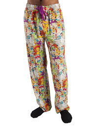 Character Pants Top Drawer Nickelodeon Character Graphic Mens Sleep Lounge