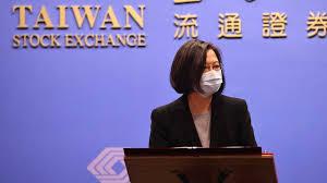 ประธานาธิบดีไต้หวันอวยพร ตรุษจีนให้ประชาชนจีน