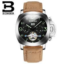 online get cheap best running watch for men aliexpress com best quality designer brand men 2017 binger watch fashion men automatic mens sports watches rose gold
