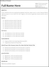Word Online Resume Template Best Of Free Template For A Resumes Fastlunchrockco