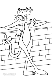 Small Picture Printable Pink Panther Coloring Pages For Kids Cool2bKids