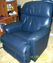 blue leather reclining sofa set and loveseat recliner chair navy furniture magnificent