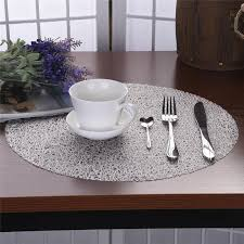 2019 dining table mat non slip plate placemat insulation pad round coasters eva transpa crystal 38cm from lsg8512 2 86 dhgate com