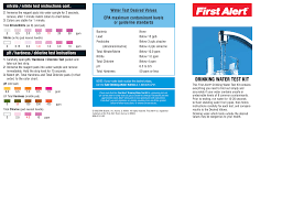 Water Test Kit Instructions For Water Test Kit Manualzz Com
