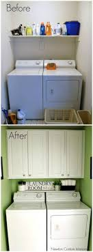 Easy Laundry Room Makeovers Best 25 Laundry Room Makeovers Ideas On Pinterest Small Laundry