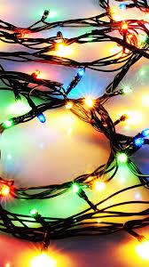 Christmas Wallpaper Lights Iphone