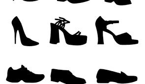 Vectors Silhouettes Shoe Vectors Silhouettes Vectorish