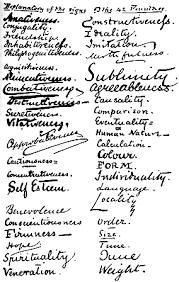 writing analysis handwriting analysis