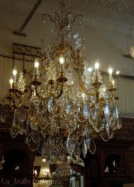 lighting outstanding antique chandelier crystals