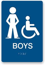 bathroom boy sign. bathroom boy sign