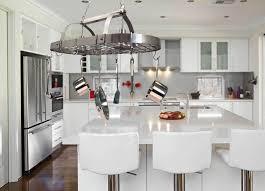Amazon.com: Elegant Designs PR1000 BSN Home Collection 2 Light Kitchen Pot  Rack With Down Lights, Brushed Nickel: Home Improvement