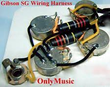 gibson wiring harness compatible gibson sg bumble bee repro vintage wiring harness