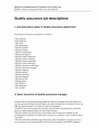 Quality Control Inspector Resume Resume Format For Quality Control Engineer Awesome Resume Format 15
