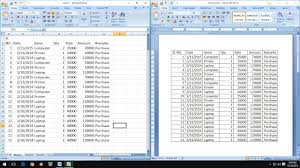 Excel Word How To Exact Copy Paste Excel Data Into Word Table Youtube